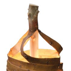 Stripped Lamp by Floris Wubben