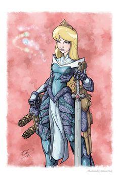 Magical Dropzone Kingdom: Sci-Fi Disney Princesses http://geekxgirls.com/article.php?ID=5995