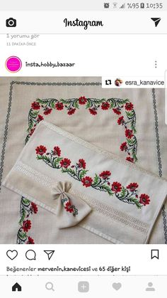 Embroidery Stitches, Pot Holders, Instagram, Bath Linens, Throw Pillows, Cross Stitch, Stuff Stuff, Shandy, Embroidery