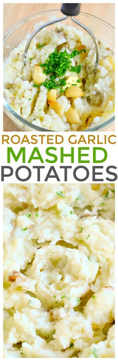 Looking for quick and easy side dish recipes? Serve our roasted garlic mashed potatoes recipe packed with flavor and fresh ingredients. via @KnowYourProduce