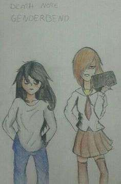 Death Note Genderbend
