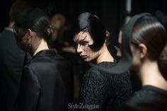 Thom Browne F/W 15 - Women's Backstage   StyleZeitgeist Magazine
