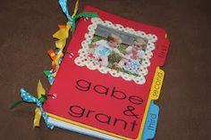 Keepsake birthday card books