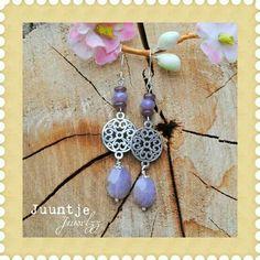 Oorbellen met edelstenen van Juuntje Juwelzz ♡