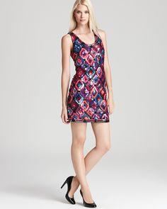 Trina Turk Tank Dress - All Eyes On Me Sequin   Bloomingdale's