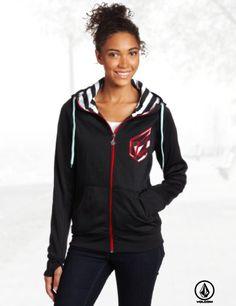 Volcom Juniors Be Bold Hydro Zip Sweatshirt