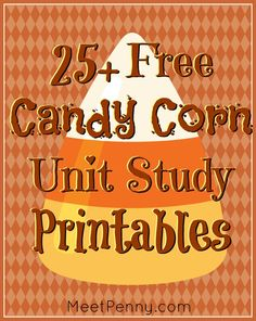 A really big list of free candy corn printable worksheets and activities