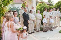 Wedding Party at Gazebo   Vintage Villas   Addison Studios   Flowers by Cathy Shay