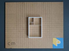 Golden ratio cookie cutter 3D printed by Printmeneer on Etsy