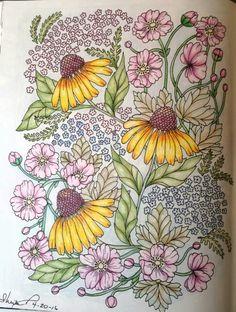 Blomstermandala 4-20-16