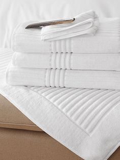 Luxury Bath Towels. Why they're worth it: Turkish cotton hand towels will last longer and look better than their cheaper counterparts, so you won't have to replace them as often.  Frette bath towels, from $10, GarnetHill.com