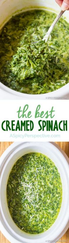 The Best Creamed Spinach Recipe