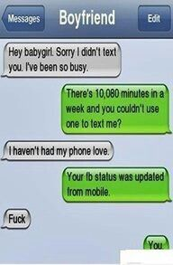 19 Ex – Girlfriend (And Boyfriend) Texting Fails – Seriously, For Real?Seriously… – So Funny Epic Fails Pictures Funny Texts Crush, Funny Text Fails, Funny Text Messages, Funny Jokes, Funny Troll, Stupid Funny, Boyfriend Texts, Boyfriend Humor, Boyfriend Messages