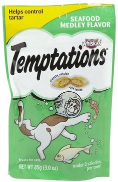 Case of 12 - Whiskas Classic Temptations - Seafood Medley - 3 oz *** Continue to the product at the image link. (This is an affiliate link and I receive a commission for the sales)