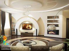 Дизайн потолка Living Room Styles, Living Room Tv, Living Room Modern, Interior Work, Home Interior Design, Leaving Room Ideas, Tv Stand Modern Design, Modern Tv Wall Units, False Ceiling Living Room