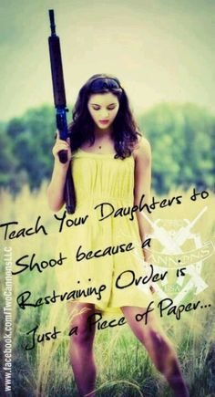 It's time to teach your Daughters & Girl Friends to shoot