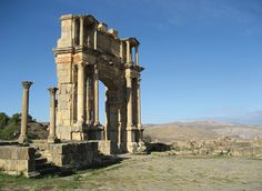 See the ruins of Cleopatra Selene's palace
