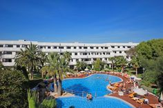 Club Martha's Cala d'or Mallorca summer 2014. Beautiful sunny day at our swimmingpool.