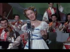 """Jane Powell performing """"It's a most unusual day"""" from the movie A date with Judy 1948"""