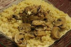 Paupiette de dinde à la sauce mascarpone au Cookéo