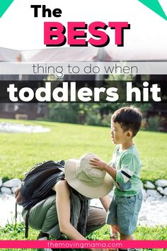 What should you do when your child hits you? That's the question a lot of moms want the answer to as they try to stay calm when their child is being aggressive. Toddler tantrums often leads to aggressive behaviour, and they might hit you to get what they want. What are you going to do about it? Parenting and discipline for toddler hitting will be so much easier once you have these tips. Toddler Behavior, Toddler Discipline, Terrible Twos, Stay Calm, Gentle Parenting, Your Child, This Or That Questions, Children, Tips