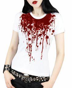 Blooddrop Print T-shirt
