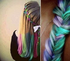 Hair Chalk colours