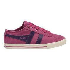 Children's Gola Quota Lace Up Sneaker Maroon/ (US Children's (Regular)), Boy's