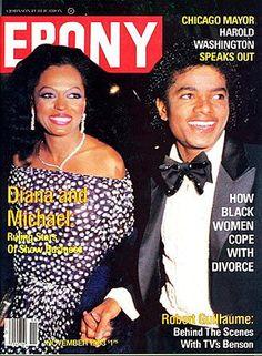 Ebony magazine — November 1983 — Diana Ross & Michael Jackson