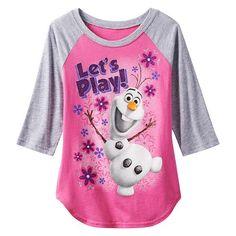 Disney Frozen Olaf Let's Play Raglan Tee #Kohls