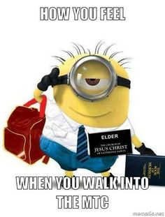 Most memorable quotes from Minions, a movie based on film. Find important Minions Quotes from film. Minions Quotes about Best Quotes Minion and Funny Yet Nonsense Minion Quotes. Missionary Quotes, Missionary Care Packages, Missionary Mom, Sister Missionaries, Lds Memes, Lds Quotes, Mormon Jokes, Lds Books, Later Day Saints