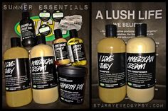 Summer Essentials: LUSH Cosmetics: Hair Care