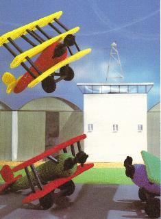 Free Crochet Toy Airplane Pattern