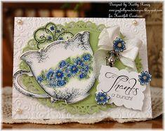 Heartfelt Creations China Fragments