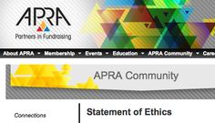 Social media ethics policy from APRA. Very thoughtful! Ethics Policy, I Am Statements, Reputation Management, Non Profit, Fundraising, Social Media, Thoughts, Education, Social Networks