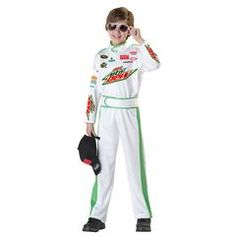 NASCAR Dale Earnhardt Jr Child Costume from Windy City Novelties