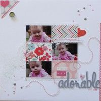 A Project by michellerose from our Scrapbooking Gallery originally submitted 02/18/13 at 07:39 PM