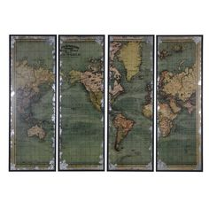 The World Map Set of