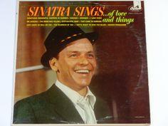 "Frank Sinatra - Sinatra Sings of Love and Things - Vocal Jazz - ""I Love Paris"" - Original Mono Capitol Records 1962 - Vinyl LP Record Album"