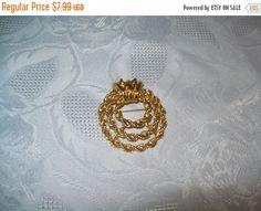 Sale 50% off monet brooch Vintage brooch Unique by vintagebyrudi