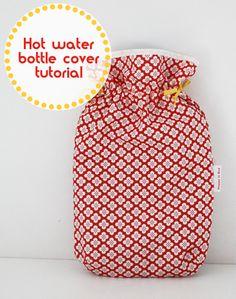 ATELIER CHERRY: Capa para bolsa de água quente