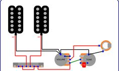 """Simple and Popular """"Volume + Tone"""" Guitar Wiring"""