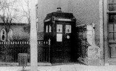 A genuine Police Box in the 1950s.