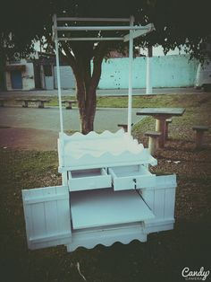 Foto: carrinho de doces. http://madeirausada.com.br/