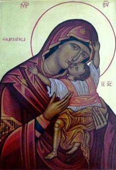 https://flic.kr/p/wcdqFb | Icono: Madre de Dios Kardiotissa | Autor: Roque Barbuto. Escuela Taller El Mandylion. Fundación La Santa Faz. santafaz.org.ar