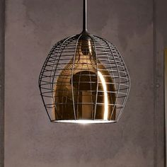 Cage Suspension by Diesel by Foscarini