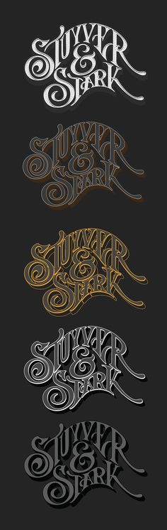 Stuyver & Stark on Behance by Abraham García