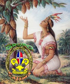 Anacaona (the Golden Flower), was a Taíno cacica (chief), sister of Bohechío, chief of Jaragua, and wife of Caonabo, chief of the nearby territory of Maguana, two of the five highest caciques who ruled the island of Xayti (now Hispaniola) when the Spaniards settled there in 1492. She was celebrated as a composer of ballads and narrative poems, called areítos. Read more http://en.wikipedia.org/wiki/Anacaona