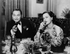 Edward G. Robinson and Luli Deste in Thunder in the City (1937).