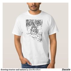 drawing tractor and nature T-Shirt Keep It Cleaner, Tractors, Shirt Style, Shop Now, Fitness Models, Your Style, Shirt Designs, Kids Shop, Tee Shirts